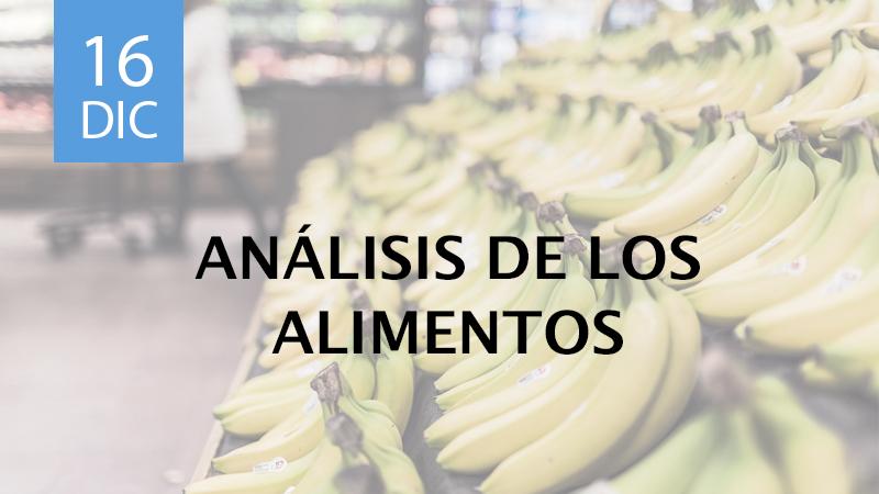 analisis de los alimentos