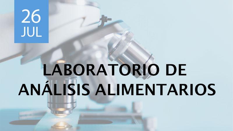 laboratorio de análisis alimentarios