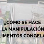 manipulación de alimentos congelados