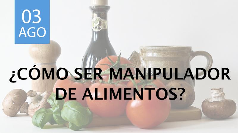 manipulador de alimentos en Madrid