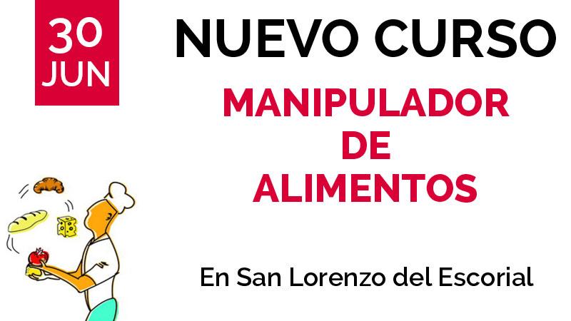 curso manipulador de alimentos san lorenzo del escorial