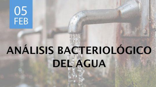 análisis bacteriológico del agua