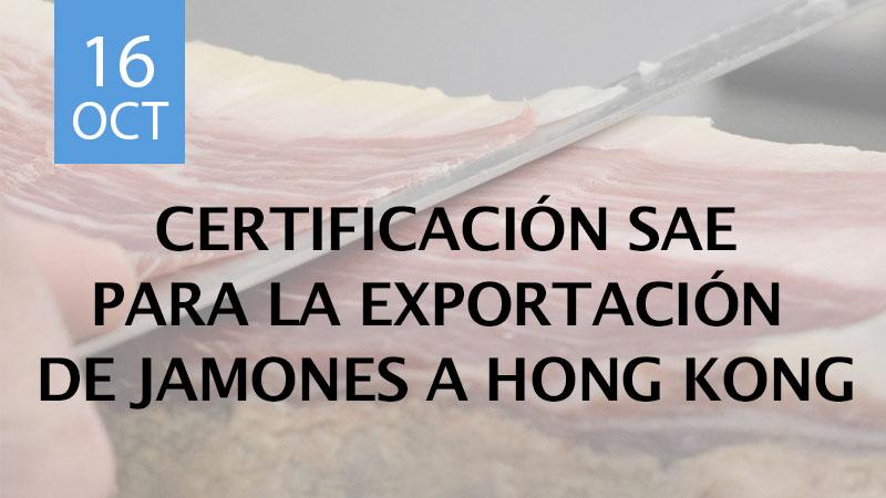 Certificación SAE para la exportación