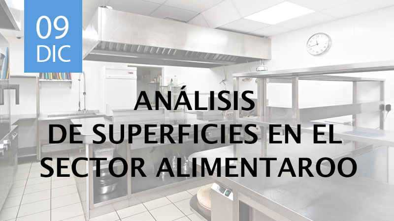 análisis de superficies en el sector alimentario