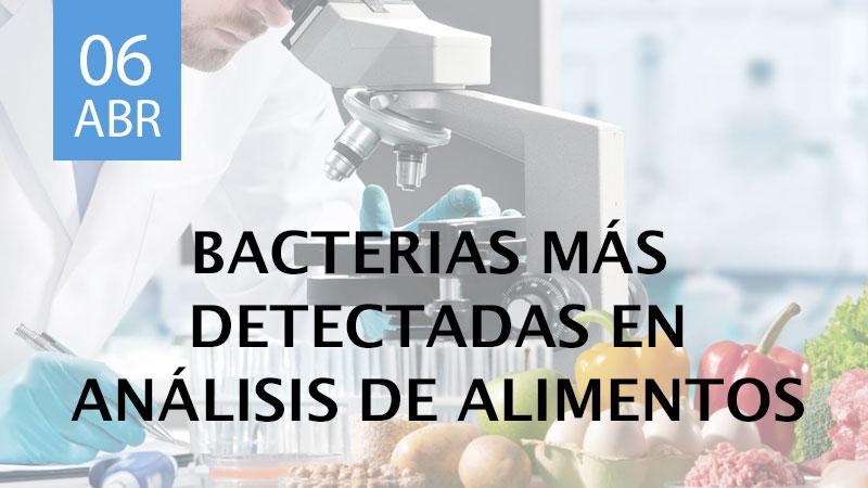 análisis microbiológicos de alimentos